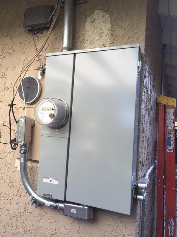 200 Amp Service - Caldera Power